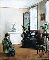 Interior from a Musical Home