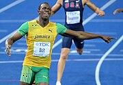 Usain Bolt 200 m Berlin 2009