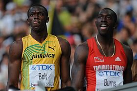 Usain Bolt Marc Burns Berlin 2009.JPG