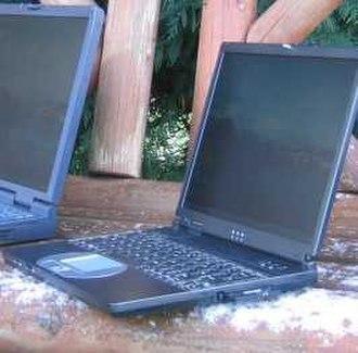 VIA C3 - A sub-notebook utilising a VIA Nehemiah C3 processor