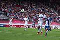 Valais Cup 2013 - OM-FC Porto 13-07-2013 - Rod Fanni et Marat Izmaylov.jpg