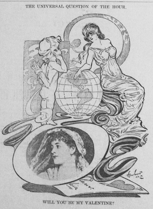 Valentine's Day graphic 1904