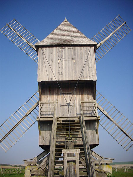 Windmill of Valmy (Marne, France)