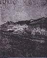 Van Gogh - Umfriedetes Feld mit Blick auf eine Berglandschaft.jpeg