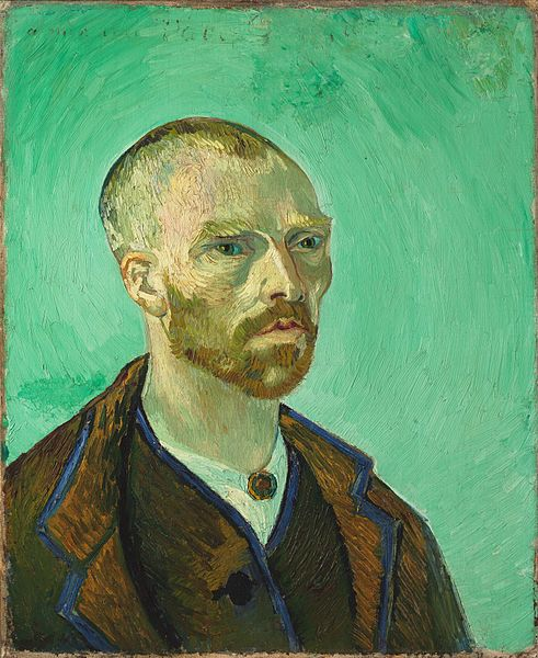 Archivo:Van Gogh self-portrait dedicated to Gauguin.jpg