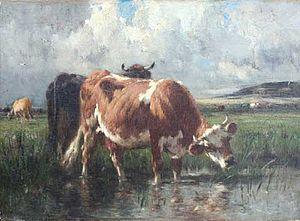 Émile van Marcke - Summer Pastoral, Bresle Valley