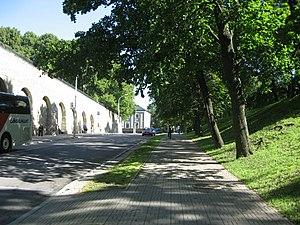 Улица Фальги по направлению к Дому коменданта