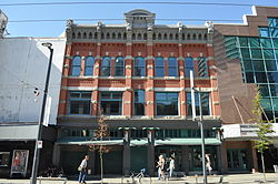 File:Vancouver, BC - Granville Street 02.jpg. By: User:Jmabel|Joe Mabel