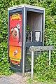 Vanishing telephone box at Wykeham Place, Winchester - geograph.org.uk - 864906.jpg