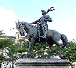 statue équestre d'Arthur III de Bretagne