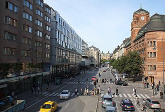 Vasagatan, Stockholm - Vasagatan in 2012
