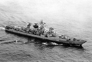 Soviet cruiser <i>Vasily Chapayev</i>