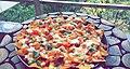 Veg loaded nachos made by me.jpg