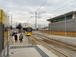Velopark tram stop