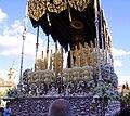 Venerable Hermandad del Santísimo Cristo de la Lanzada y María Santísima de la Caridad, Granda, Semana Santa 2009 (19).JPG