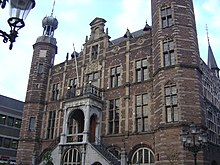 Das historische Rathaus von Venlo