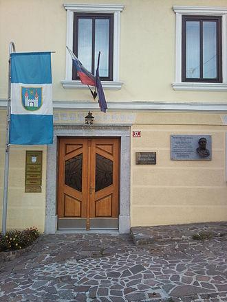 Višnja Gora - Image: Višnja Gora town hall