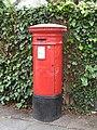 Victorian postbox, Belvedere Grove, SW19 - geograph.org.uk - 900513.jpg