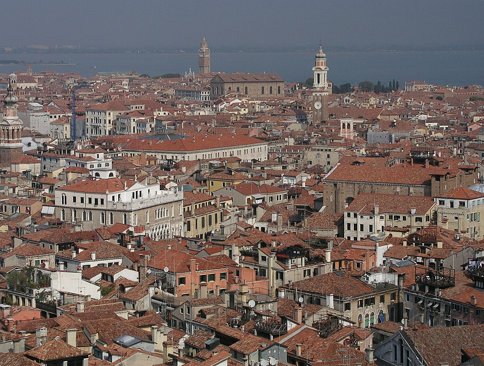View from Campanila to north