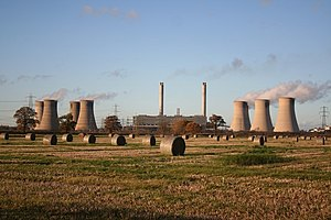 West Burton power stations - West Burton Power Station Viewed from the south in November 2006