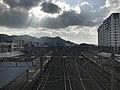 View from footbridge over Moji Station.jpg