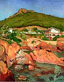 View of Agay, the Red Rocks Albert Marquet (1905).jpg