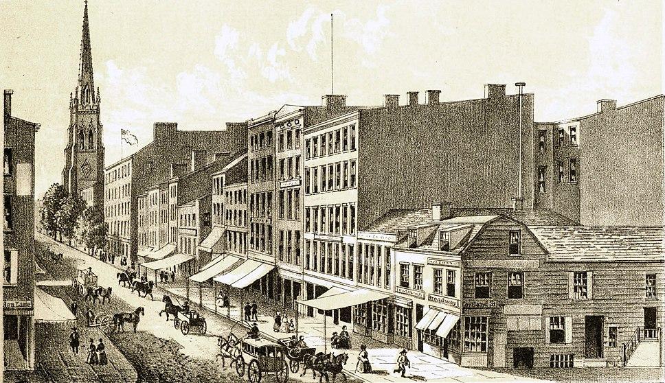 View of Broadway, 1834 (NYPL b12349156-421536)
