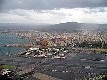 View of La Línea de la Concepción, from the Rock of Gibraltar.jpg