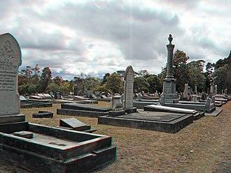 Waikumete Cemetery - Waikumete Cemetery in March 2014