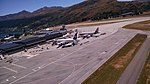 View of planes at Queenstown Airport from ZK-IDN 03.jpg