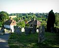 View over Westerham Churchyard - geograph.org.uk - 231506.jpg