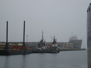Viewing two tugs moored at the mouth of the Keating Channel -c.jpg