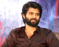 Vijay Devarakonda at an interview for the movie NOTA.png