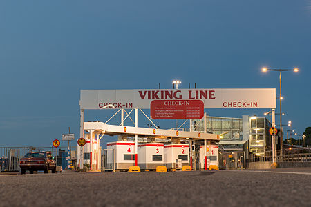 Viking Line ferry terminal