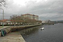 Vila do Conde - Monestir de Santa Clara sobre el riu Ave.JPG