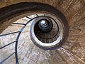 Villa medici, scalinata a chiocciola 01.JPG