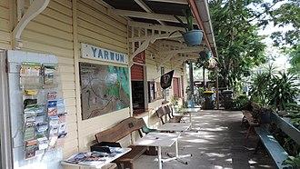 Yarwun, Queensland - Former Yarwan railway station (now at Calliope River Historical Village), 2014