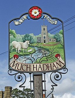 Village Sign, Much Hadham, Hertfordshire - geograph.org.uk - 315803.jpg