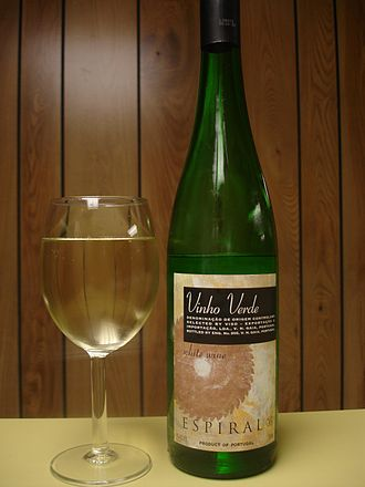 History of Portuguese wine - Today, Portugal is known for more than just Port and Madeira with wines such as Vinho Verde (pictured) gaining international attention.