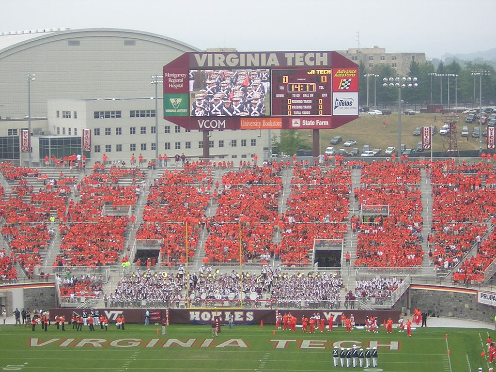 File Virginia Tech Vs Georgia Tech 2005 Orange Effect Jpg