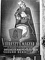 Virraszt a magyar nő. Plakát, 1943. Fortepan 72607.jpg