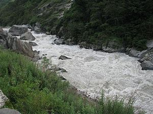 Vishnuprayag - Image: Vishnuprayag