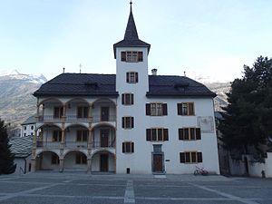 Visp - Visp Town hall