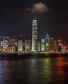 Vista del Puerto de Victoria desde Kowloon, Hong Kong, 2013-08-11, DD 12.JPG
