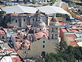 Vista del Templo de la Natividad de Nuestra Señora desde el Cerro de San Miguel, Atlxico.JPG