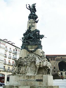 Description de l'image Vitoria - Monumento Batalla Vitoria1.JPG.