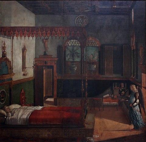 Vittore Carpaccio - Sant'Orsola polyptich - Sogno di Orsola.jpg