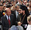 Vizita Presedintelui Basescu la Manastirea Comana.JPG