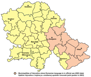 Romanian language wikipedia official usage of romanian language in vojvodina serbia gumiabroncs Image collections