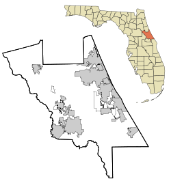 Pennichaw, Florida is located in Volusia County